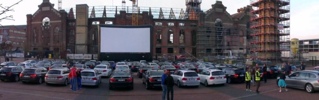 BMW drive in bioscoop Zolder Belgie