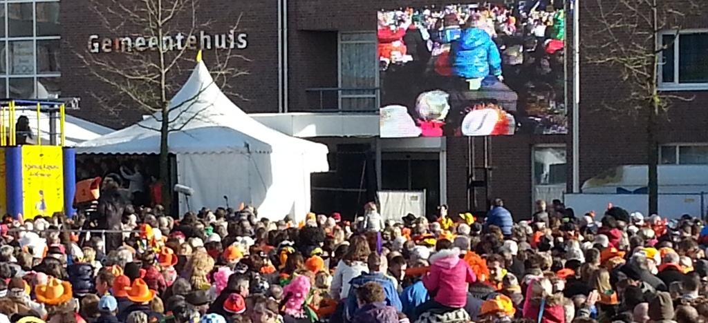 Live cameraregistratie tijdens evenement