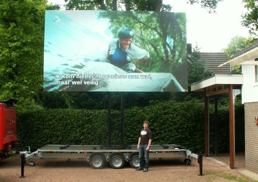 LED-scherm videoscherm